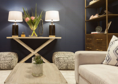 Interior photograph of Wisty Raleigh's Decorex 2017 stand