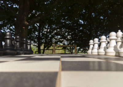 Whispering Waters Outdoor Chessboard