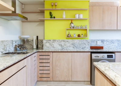 Interior photography of a modern kitchen/scullery